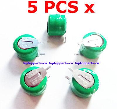 5 PCS x Ni-MH 3.6V 20mAh Tabbed Rechargeable Battery 3/V20H PLC Back up Power