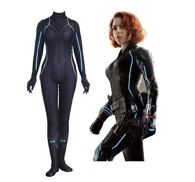 The Avengers Black Widow Cosplay Jumpsuit Spiderman Zentai - Spiderman Custom Kostüm