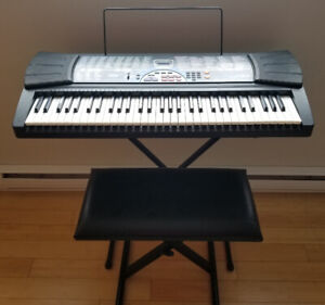 Piano Casio Lk-30 Key Ligthing / Touche qui s'allume