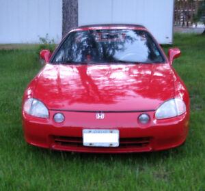 1993 Honda Del Sol Si Convertible