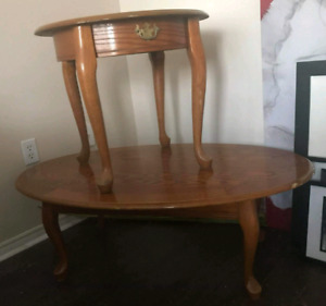 Coffee Table & End Table Not Smoke Free $55
