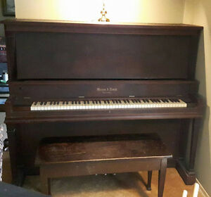 Piano 1912 Mason & Reich free delivery! Kitchener / Waterloo Kitchener Area image 1
