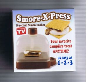 Smore-X-Press - 10 Second S'more Maker - New
