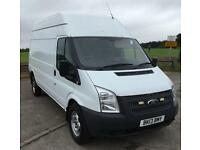 2013 13 FORD TRANSIT 2.2 350 HIGH ROOF PLUS VAT 1 OWNER FROM NEW DIESEL