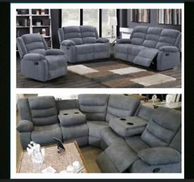 SORRENTO Fabric Recliner Sofas