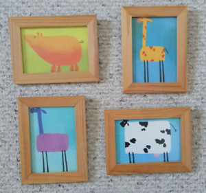 IKEA decorate picture with framet,4 pieces set, $6