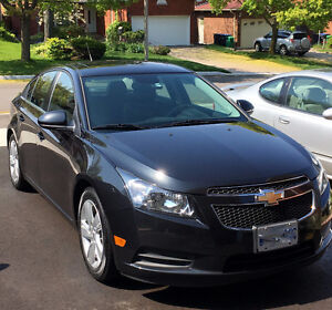 2014 Black Chevrolet Cruze Sedan - Diesel