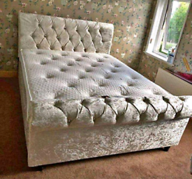Chesterfield Sleigh bed frame 🛌
