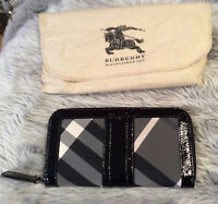 Authentic Burberry passport wallet
