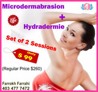 ((Microdermabrasion + Hydradermie)) Special PROMOTION in Calgary