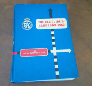 The RAC Guide & Handbook 1962, Royal Auto Club