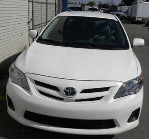 Corolla 2011 Accident free One Owner Power window Power trunk