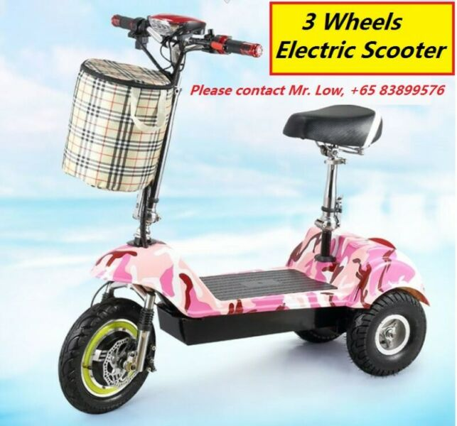 3 Wheels Mobility Scooter PMA