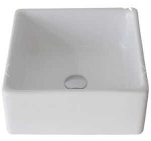 Over the counter square sink