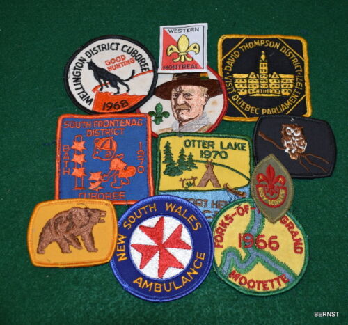 BOY SCOUT - CANADA - LOT OF ACTIVITY PATCHES