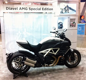 2013 DUCATI AMG with7,344 KM...RARE...ONLY 3 FOR SALE IN CANADA