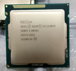 Intel Xeon Processor E3-1240 v2  3.4 ghz LGA1155