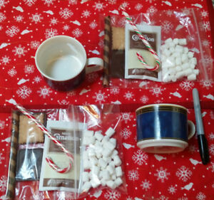 Hot chocolate Christmas cups~ *pick up only please*