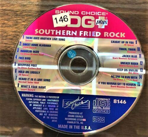 SOUND CHOICE KARAOKE SPOTLIGHT CD+G - 8146 - SOUTHERN  FRIED ROCK- CDG
