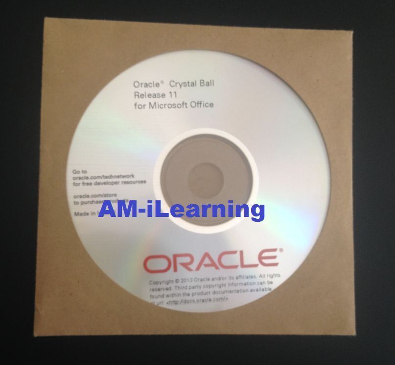 ☎ Oracle Crystal Ball v11 Forecasting,Simulation software + FREE SUPPORT