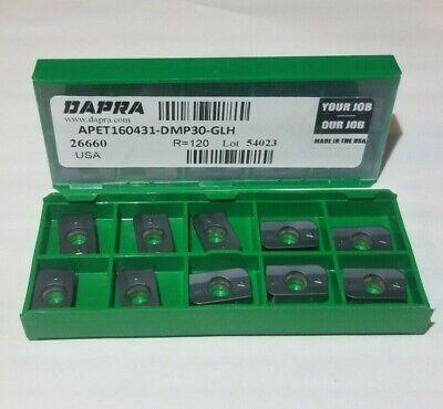 Apet 160431 Dmp30 Glh Dapra 10 Inserts Factory Pack
