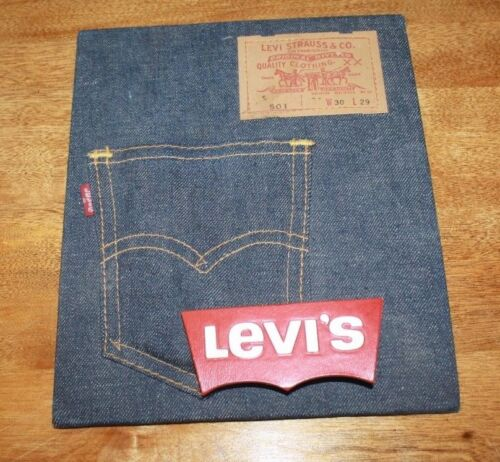 VINTAGE LEVI STRAUSS COUNTER TOP BIG E ADVERTISING PIECE FREE SHIPPING