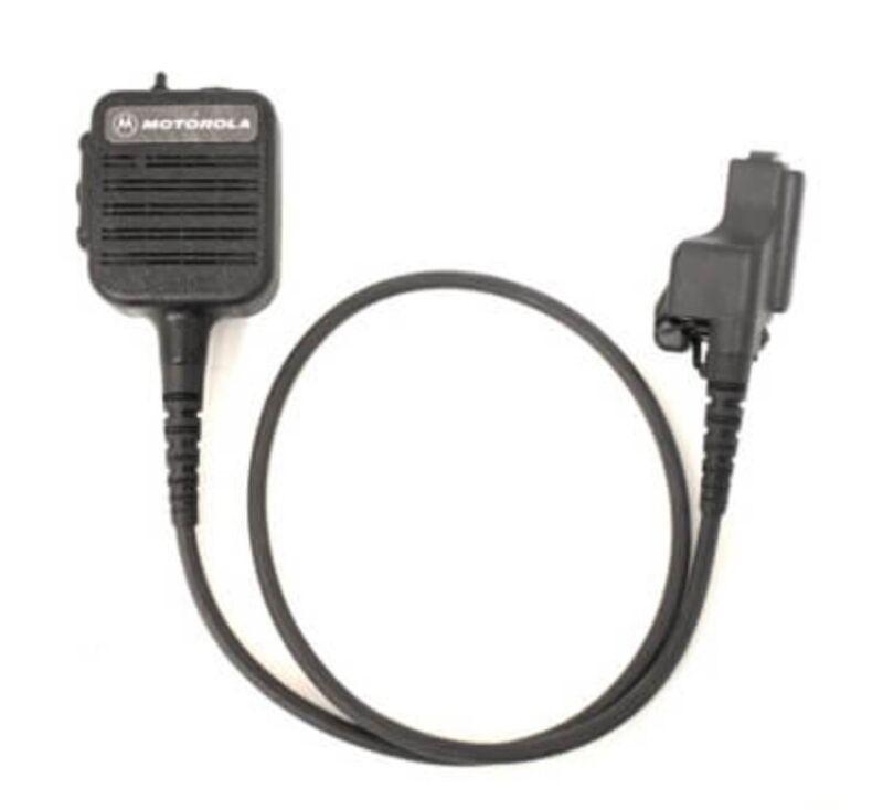 "NEW OEM Motorola NMN6228C Public Safety Speaker Microphone PSM 30"" Straight Cord"