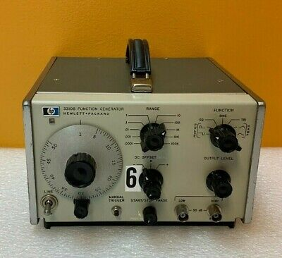 Hp Agilent 3310b For Parts Repair Function Generator. No Output