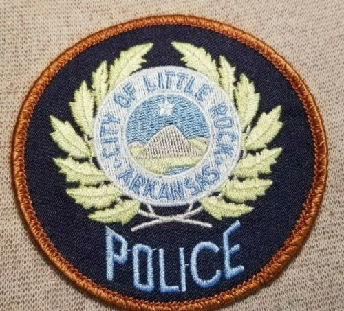 AR Little Rock Arkansas Police Patch