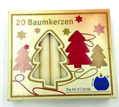Vela Iluminación Arbol De Navidad Baumkerzen Fiestas Decoración