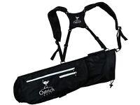 Brand New Ostrich Golf Dual Strap Pencil Bag