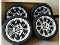 """BMW MV2 18"""" 5 e60 Alloys Wheels rim 245 40 tyres e60 e61 8036570"""