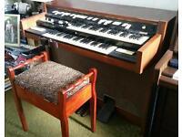 Hammond Organ with large speaker