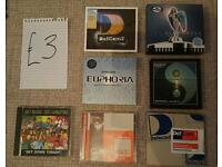 CD CDs House / Trance from 90s / 00s
