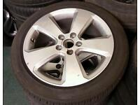 AUDI A3 8V S LINE SPORT 2015 ALLOY WHEELS AND TYRES