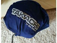 Motorcycle helmet size large open face tacachi