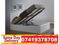 Brand New WOODEN STORAGE DOUBLE Bed Available With Mattress JAMS
