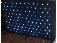 STARLIGHT WHITE LED DJ STAR CLOTH