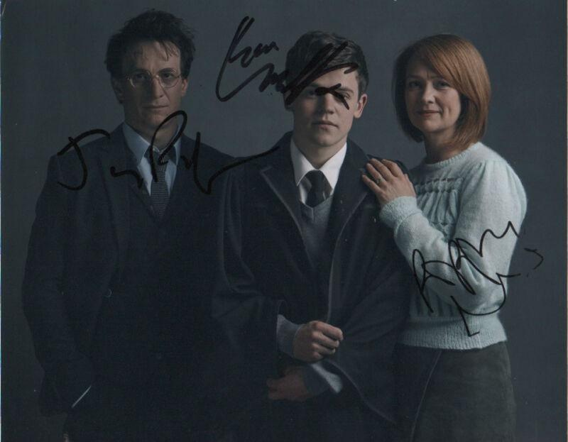 Miller Clemmett Harry Potter Cursed Child Autographed Signed 8x10 Photo COA