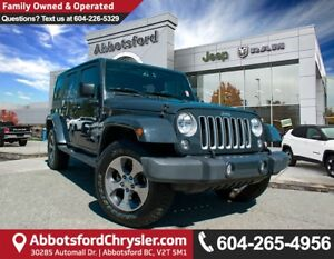 2016 Jeep Wrangler Unlimited Sahara *ACCIDENT FREE* *LOCALLY...