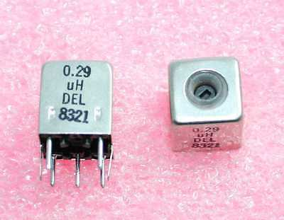 0.29h Shielded Variable Inductor - Lot Of 3 92p097
