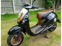 2015 registered 50cc moped. Mot jan 2018. Can deliver if needed
