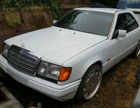 Mercedes 230 ce coupe 1991 w124 pillarless