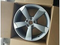 Genuine single Audi Rotar alloy brand new