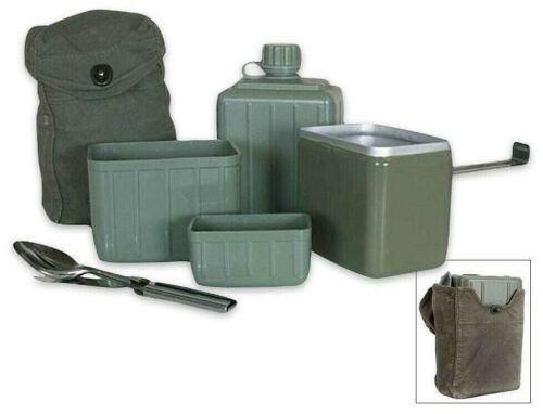 Yugoslavian (Serbian) Mess Kit with Chow Kit, 8 Pc Set, Excellent Surplus Cond.