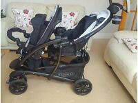 Double pushchair (GRACO) NEW CONDITION