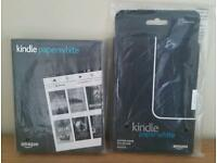 Kindle Paperwhite 4gb and Genuine Amazon Kindle case