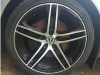"Audi R8 Replica Alloy Wheels 5x100 18"""