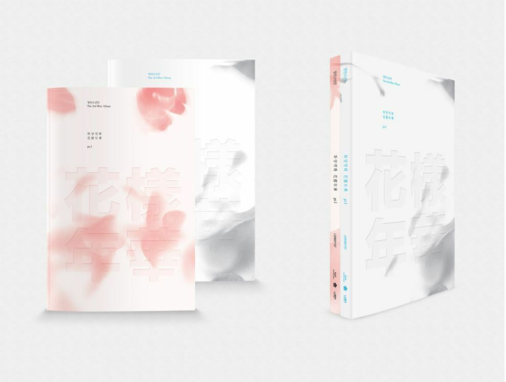 BTS-[IN THE MOOD FOR LOVE] PT.1 3rd Mini Album Pink Ver CD+Photobook+Card Sealed
