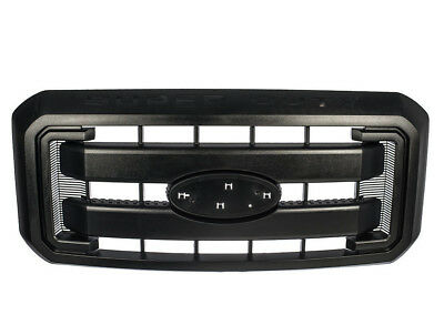 OEM FORD 11-16 F250 F350 SUPER DUTY Black Grille Front Radiator Grill BC3Z8200G
